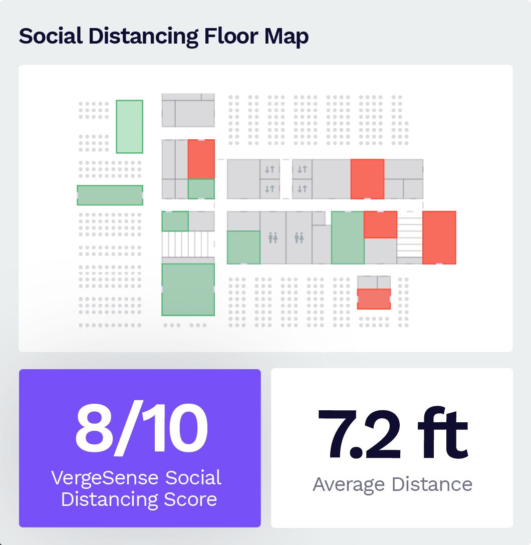 Social Distancing Floor Map